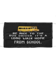 School Bus Driver Cloth face mask front