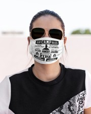 Our camp rules Cloth face mask aos-face-mask-lifestyle-02