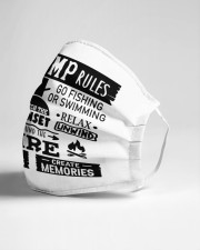 Our camp rules Cloth face mask aos-face-mask-lifestyle-21