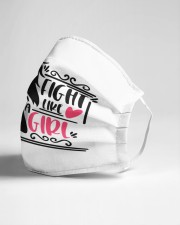 Fight like a girl Cloth face mask aos-face-mask-lifestyle-21