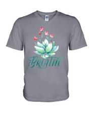 LH Breathe yoga V-Neck T-Shirt thumbnail