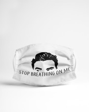 Stop Breathing on ME Cloth face mask aos-face-mask-lifestyle-22
