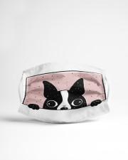 Boston Terrier Cloth face mask aos-face-mask-lifestyle-22