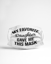 My Favorite Daughter Cloth face mask aos-face-mask-lifestyle-22