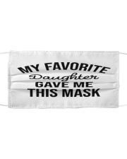 My Favorite Daughter Cloth face mask front