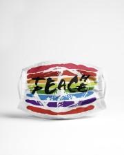 Teach peace Cloth face mask aos-face-mask-lifestyle-22