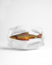 Brook Trout Cloth face mask aos-face-mask-lifestyle-22