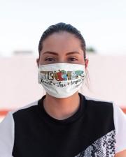 LH Teacher Love Inspire Cloth face mask aos-face-mask-lifestyle-03