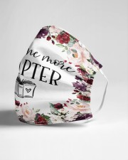 Just One More Chapter Cloth face mask aos-face-mask-lifestyle-21