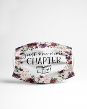Just One More Chapter Cloth face mask aos-face-mask-lifestyle-22