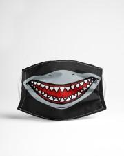 Shark Teeth 2 Cloth face mask aos-face-mask-lifestyle-22