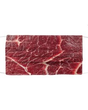 Beef texture Cloth face mask front