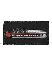 Firefighter flag Cloth face mask front