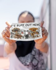 LH It's Ruff Out Here Dog Cloth face mask aos-face-mask-lifestyle-07