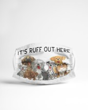 LH It's Ruff Out Here Dog Cloth face mask aos-face-mask-lifestyle-22