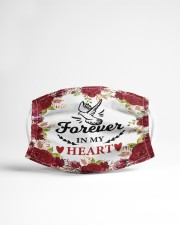 Forever in my heart Cloth face mask aos-face-mask-lifestyle-22