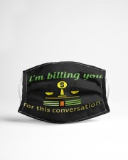 Billing You For This Conversation Cloth face mask aos-face-mask-lifestyle-22