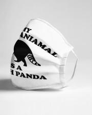 My Spirit Animal is a Trash Panda Cloth face mask aos-face-mask-lifestyle-21