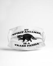 My Spirit Animal is a Trash Panda Cloth face mask aos-face-mask-lifestyle-22