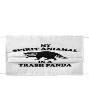 My Spirit Animal is a Trash Panda Cloth face mask front
