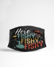 Here fishy fishy Cloth face mask aos-face-mask-lifestyle-22