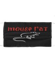 Mouse rat Cloth face mask front