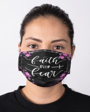 Faith over fear flower Cloth face mask aos-face-mask-lifestyle-01