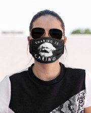 Sharing Is Caring Cloth face mask aos-face-mask-lifestyle-02