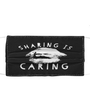 Sharing Is Caring Cloth face mask front