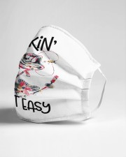 hookin aint easy Cloth face mask aos-face-mask-lifestyle-21