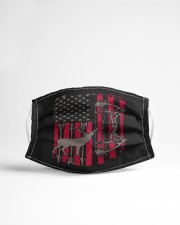 deer american flag Cloth face mask aos-face-mask-lifestyle-22