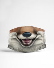 Red Fox Face Cloth face mask aos-face-mask-lifestyle-22