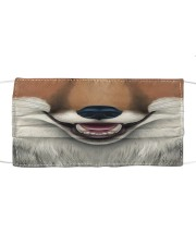 Red Fox Face Cloth face mask front