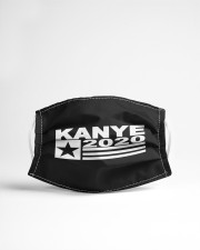 Kanye for President Cloth face mask aos-face-mask-lifestyle-22