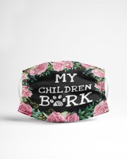 My children bark Cloth face mask aos-face-mask-lifestyle-22