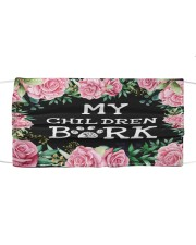 My children bark Cloth face mask front