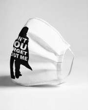 You dont forget about me Cloth face mask aos-face-mask-lifestyle-21