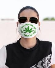 High maintenance Cloth face mask aos-face-mask-lifestyle-02