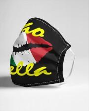 Ciao Bella Italian Lips Cloth face mask aos-face-mask-lifestyle-21