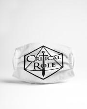 Critical Role Cloth face mask aos-face-mask-lifestyle-22