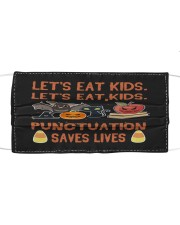 Saves lives Cloth face mask front