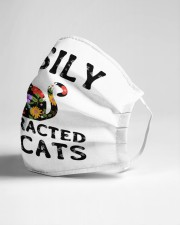 easily distracted by cats Cloth face mask aos-face-mask-lifestyle-21