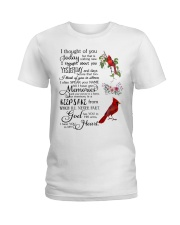 I thought of you Ladies T-Shirt thumbnail