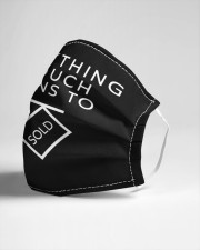 Everything I Touch Turns To SOLD Cloth face mask aos-face-mask-lifestyle-21