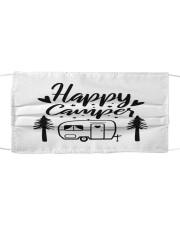 Happy Camper Cloth face mask front