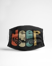 LH Retro Jeep Cloth face mask aos-face-mask-lifestyle-22