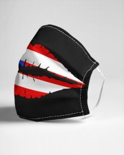 Puerto Rican Flag Lips Cloth face mask aos-face-mask-lifestyle-21