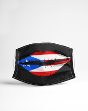 Puerto Rican Flag Lips Cloth face mask aos-face-mask-lifestyle-22