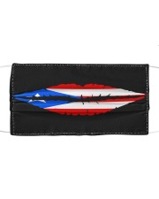 Puerto Rican Flag Lips Cloth face mask front