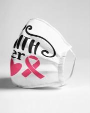 Faith over fear cancer Cloth face mask aos-face-mask-lifestyle-21
